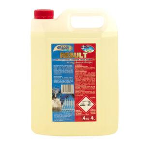 Επαγγελματικό Απορρυπαντικό Πλυντηρίου Πιάτων Result 4L