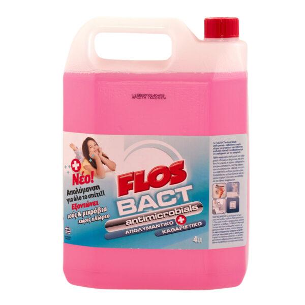 Υγρό Απολυμαντικό Επιφανειών Flos Bact, 4L