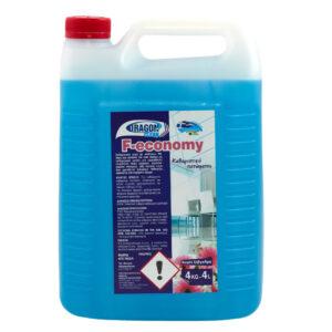 Υγρό καθαριστικό δαπέδων F-economy με άρωμα λεβάντα, 4L