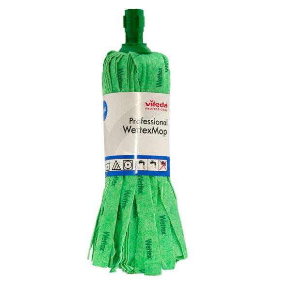Σφουγγαρίστρα πράσινη βιδωτή Wettex Vileda