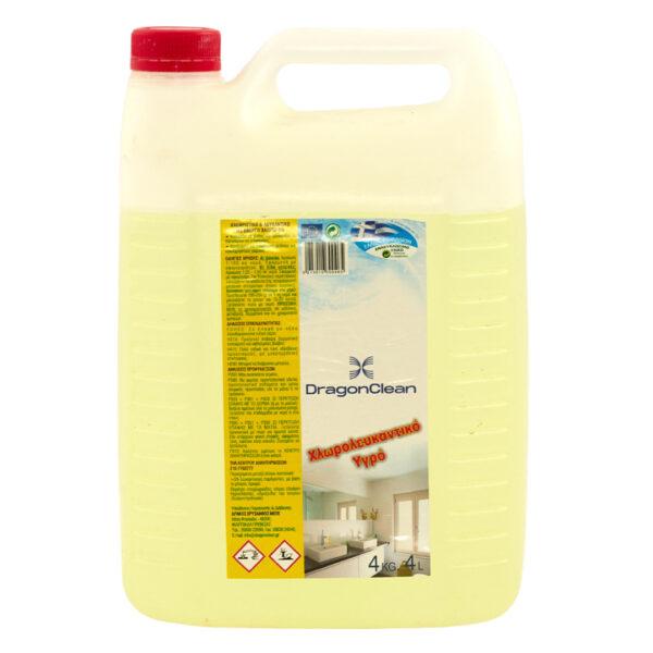 Υγρό Χλώριο με άρωμα λεμόνι, 4L